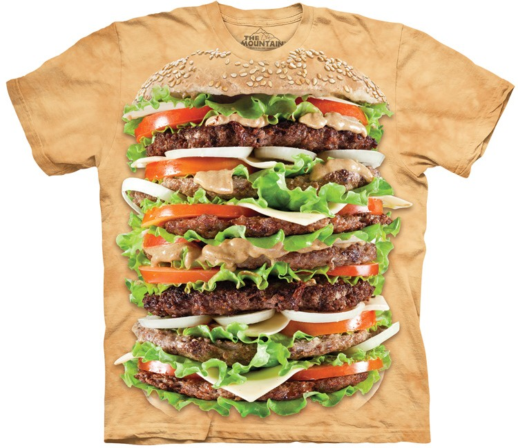 hamburger shirt