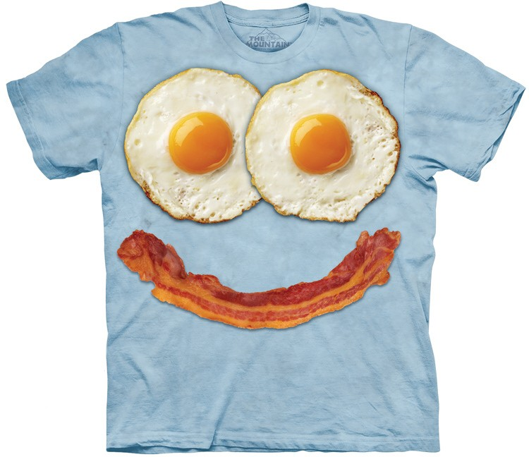 Bacon and Egg Face Shirt