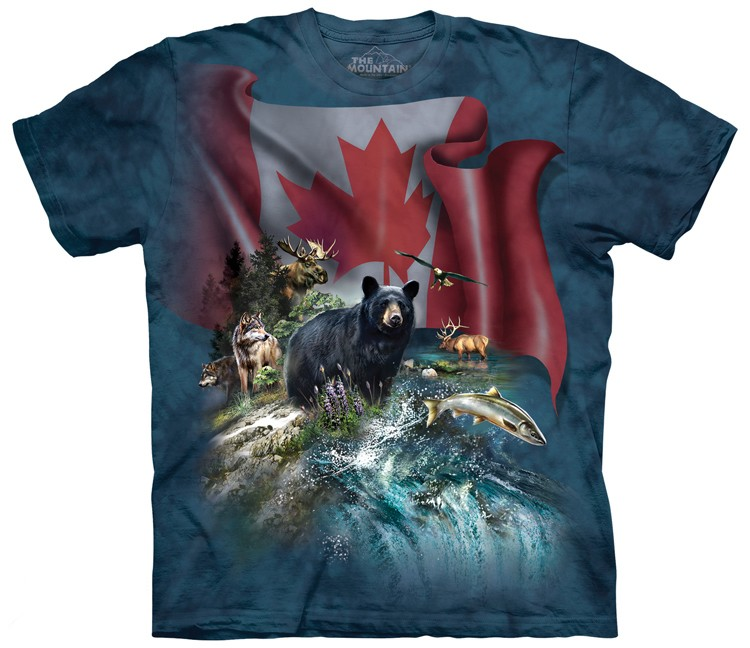 Canada the Beautiful Shirt