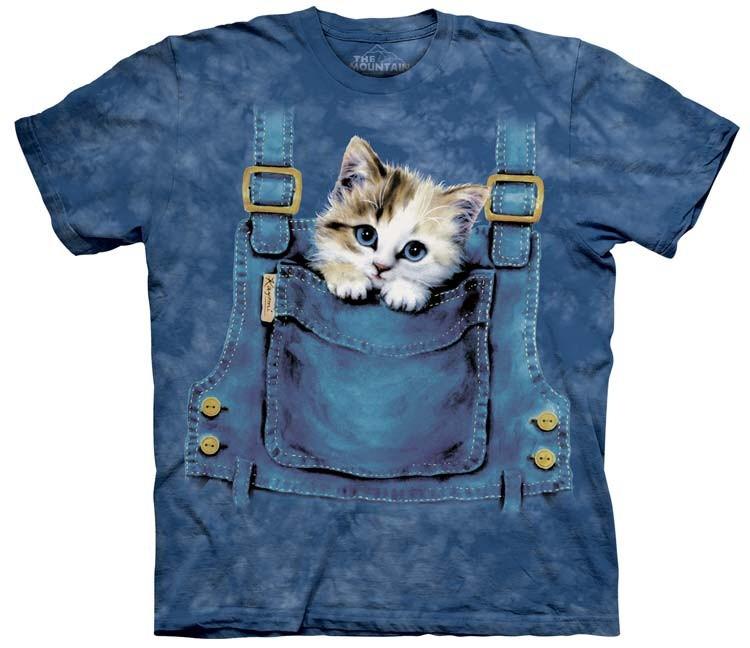 Kitten Overalls Shirt