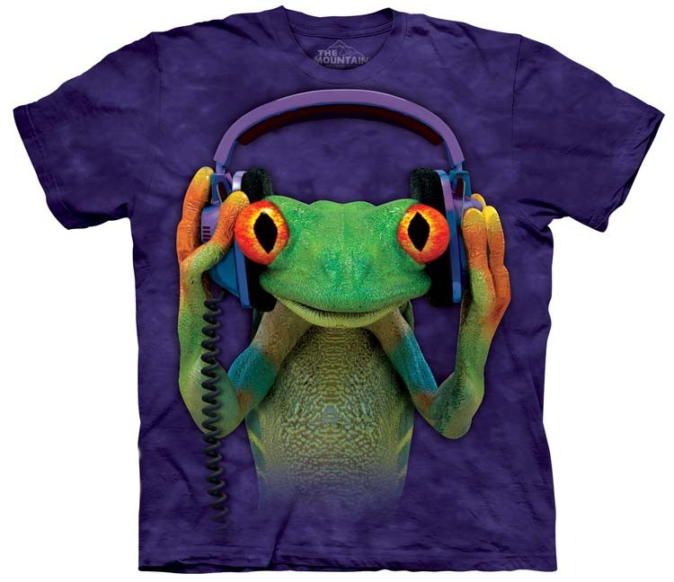 dj peace frog shirt