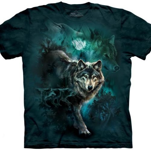 Night Wolves Collage Shirt