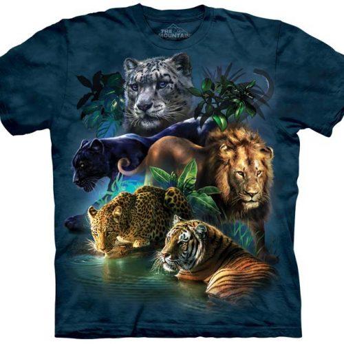 Big Jungle Cat Shirt