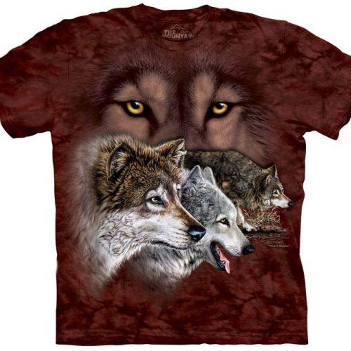 Find 9 Wolves Shirt