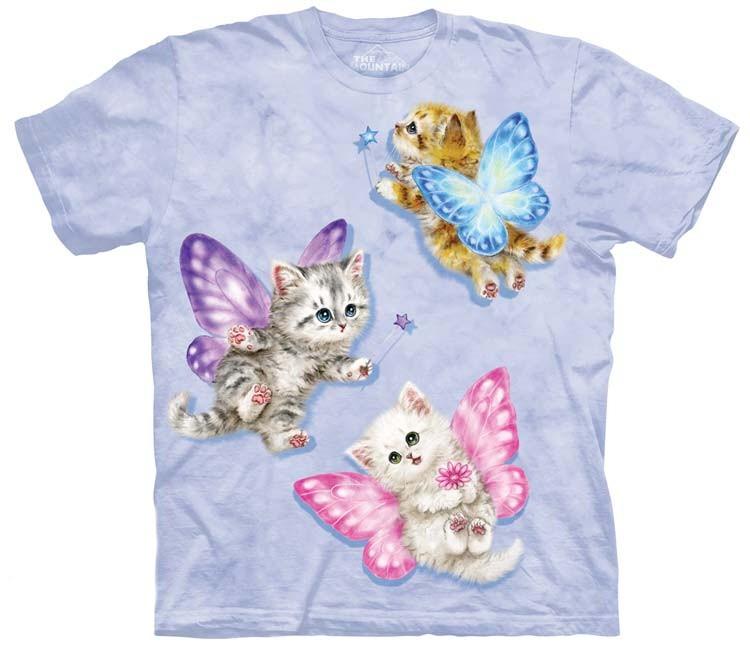 Butterfly Kitten Fairies Shirt