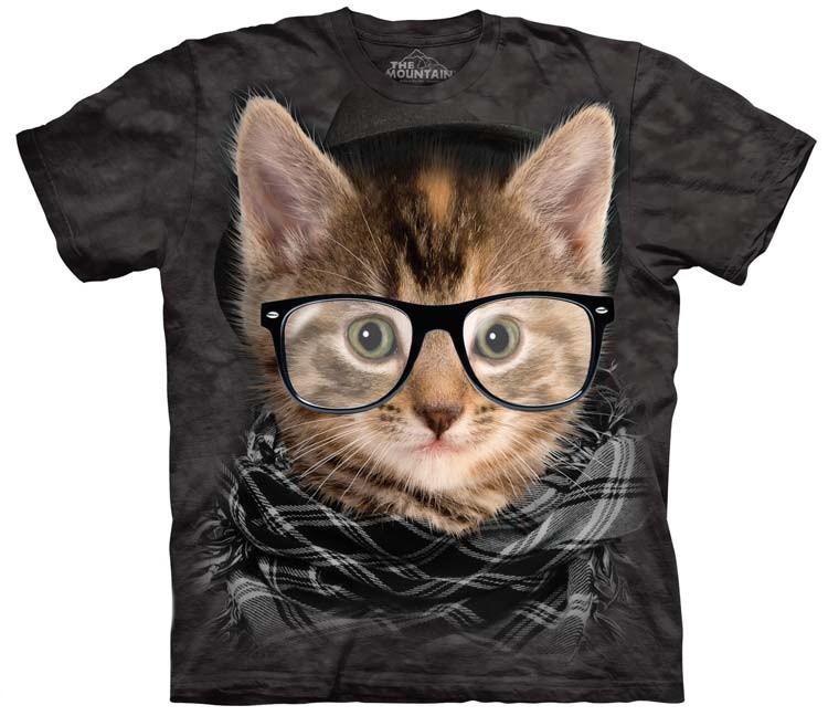 hipster kitten shirt