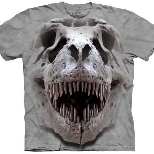 T-Rex Dinosaur Skull Shirt