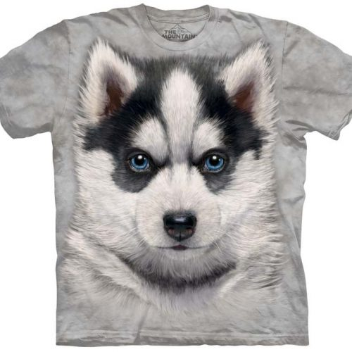 Siberian Husky Puppy Dog Shirt