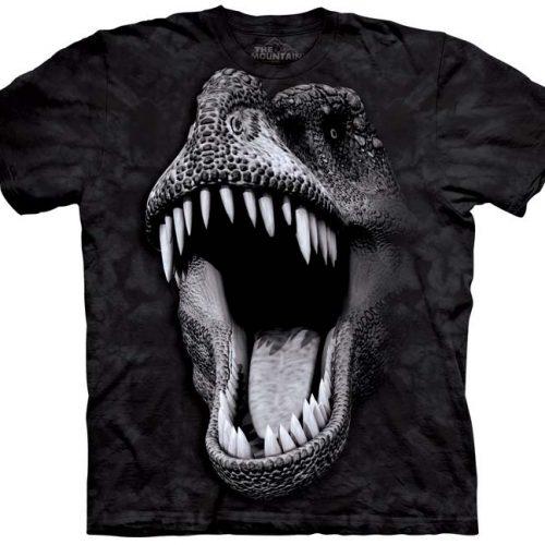 glow in the dark dinosaur shirt