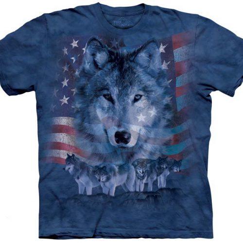 patriotic wolfpack shirt