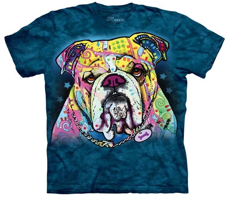 Colorful Bulldog shirt