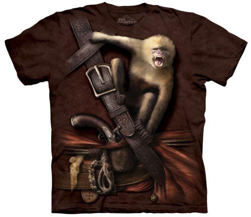 Pirate Howler Monkey Shirt