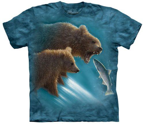 Fishing Lesson Bear Shirt