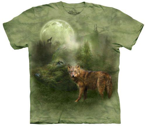 Forest Spirit Wolf Shirt
