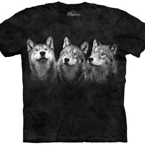 Triad Wolf Shirt
