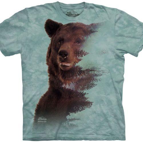 Brown Bear Forest Shirt