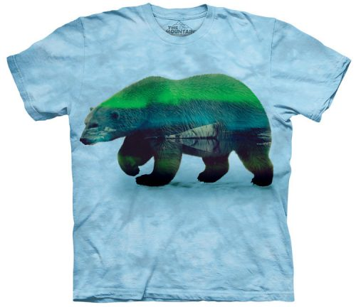 Aurora Polar Bear Shirt