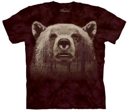 Bear Face Forest Shirt
