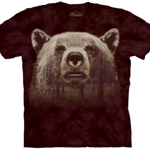 Bear Face Forest Shirt