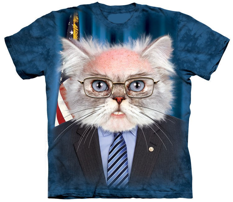 Bernie Sanders Cat Shirt
