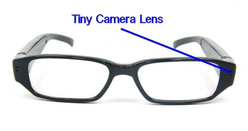 Video Camera Spy Eyeglasses