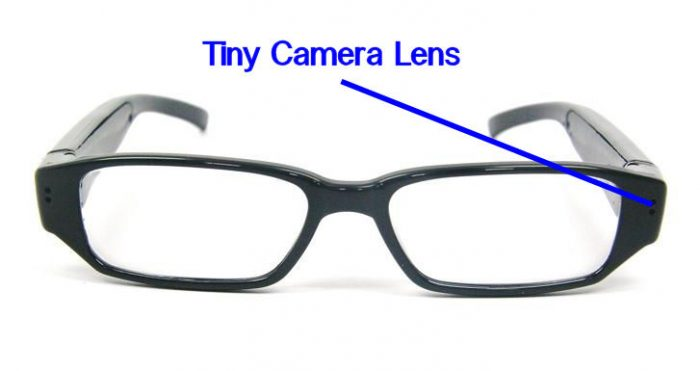 Video Camera Spy Eyeglasses